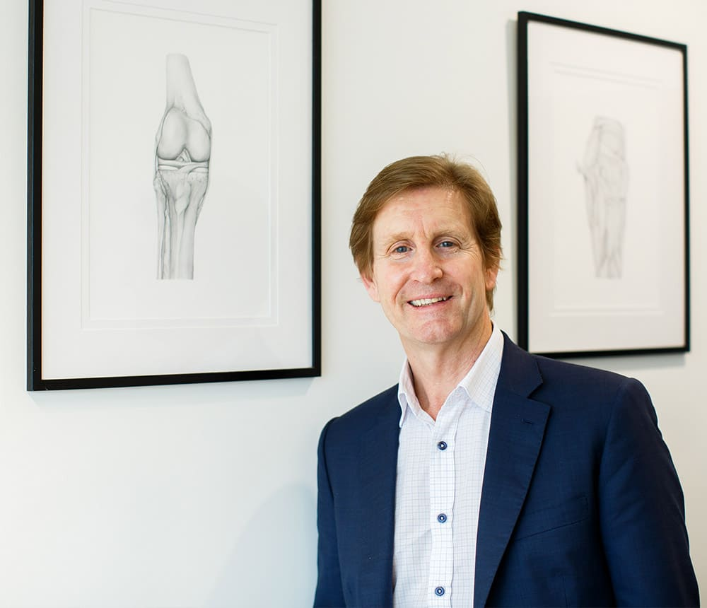 acl reconstruction dr michael stening